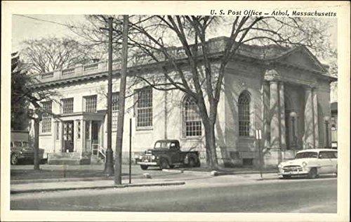 U. S. Post Office Athol, Massachusetts Original Vintage Postcard