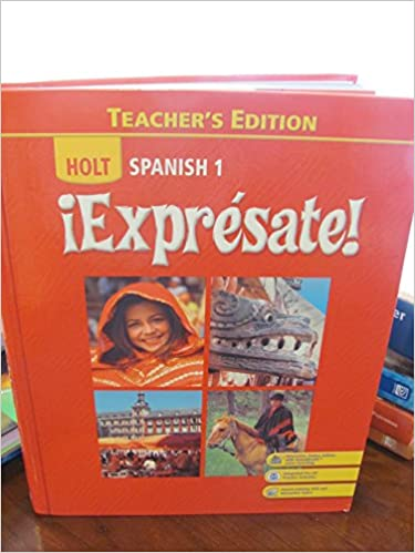 Expresate spanish 1 teachers edition humbach 9780030452123 expresate spanish 1 teachers edition 1st edition fandeluxe Image collections