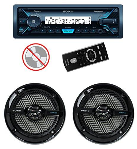 Sony DSXM55BT MP3/USB Marine Receiver Bluetooth + 2) 6.5