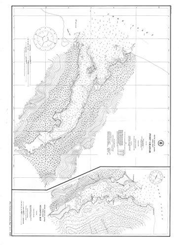 24 x 18 Vintage Nautical Map Image of: Port Graham and Seldovia Bay 1909 US Coast & Geodetic Survey 74a ()