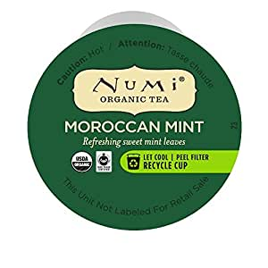 Numi Organic Tea Moroccan Mint Capsules 16-Count