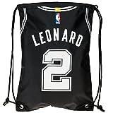 San Antonio Spurs Leonard K. #2 Player Drawstring Backpack