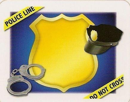 Police Officer - Edible Cake Topper (Police Birthday Cake Topper)