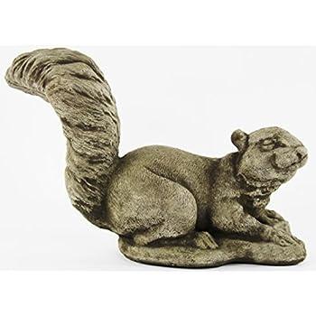 Squirrel Decorative Concrete Statue Cement Garden Statue Figure Cast Stone  Sculpture Outdoor Animal Statue