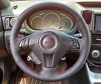 RedlineGoods Subaru Impreza 2011-16 cubierta del volante: Amazon.es: Coche y moto
