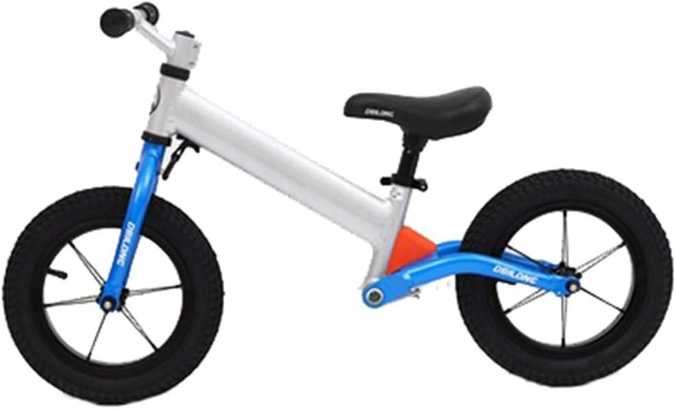 Hejok Equilibrio De La Bicicleta Roja, Sport Equilibrio De La Bicicleta Infantil Dos Ruedas para NiñOs Sin Pedal De Inercia Andador Bicicletas Bicicleta, Blue: Amazon.es: Deportes y aire libre