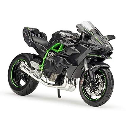 Amazon.com: ZIETNAL Diecasts & Toy Vehicles - 1:12 Kawasaki ...