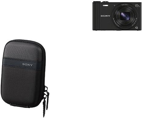 Sony LCSTWP/B - Funda para cámara compacta, color negro + Sony DSC ...