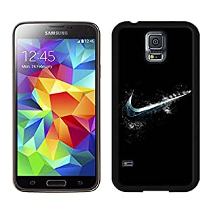 Samsung Galaxy S5 I9600 Case ,Unique And Fashionable Designed Case With Cold Nike Logo Black For Samsung Galaxy S5 I9600 Phone Case