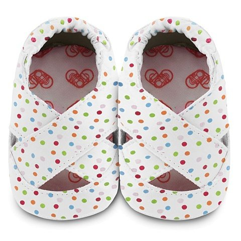 Shooshoos - Chaussures À Semelle Souple De La Peau, Les Taupes, La Taille M (6 À 12 Mois)