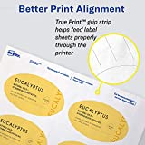 Avery Oval Labels with Sure Feed Laser & Inkjet