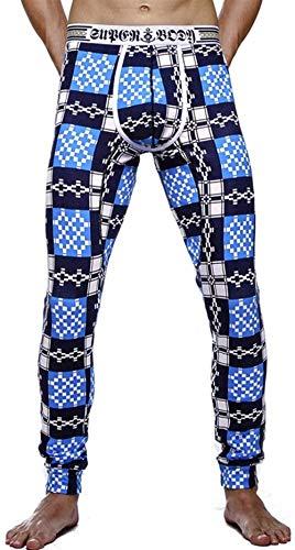 Interior Muster4 Acogedor Los Pijama Largo Cómodo Hombres Ocio Algodón De Ropa Pantalones Battercake Entrenamiento Ejercicio Polainas Térmico Deporte xTq0S0H
