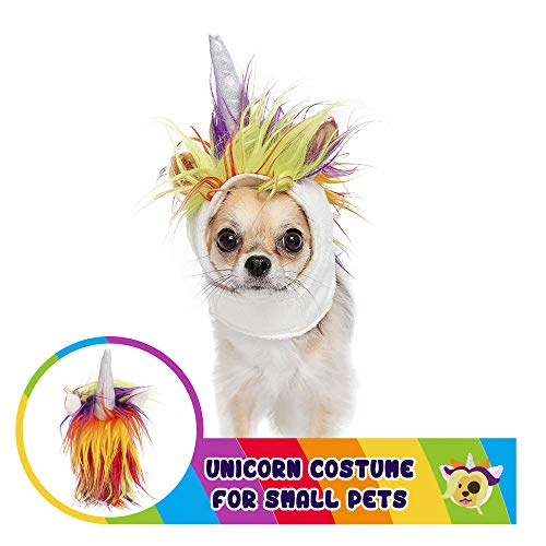 Pet Krewe PK00202 Unicorn Costume for Small Dogs &...