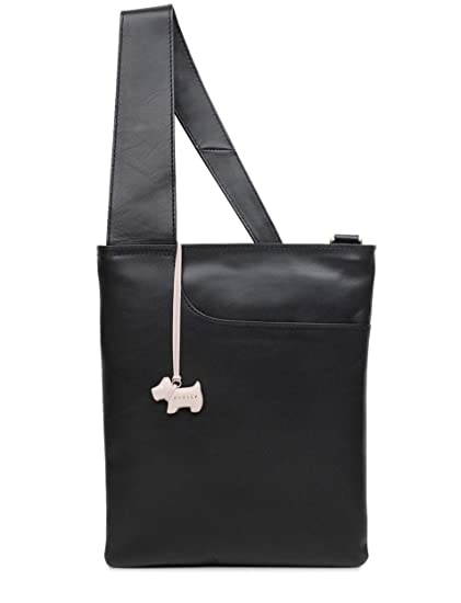 0e4c3b4caba4 RADLEY  Pocket Bag  Medium Black Leather Across Body Bag - RRP £119   Amazon.co.uk  Clothing