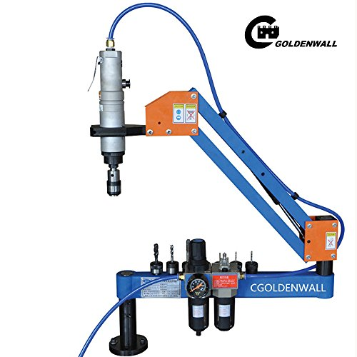 M3-M16 Automatic Pneumatic Tapping Machine Air Tapper Tool With Working Reach 1000MM (JIS CHUCKS) by CGOLDENWALL