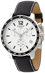 Tissot Men's T0954171603700 Quickster Analog Display Swiss Quartz Black Watch