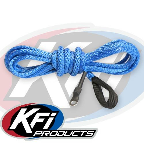 KFI Products AMP-B BLUE Blue Synthetic Plow Cable
