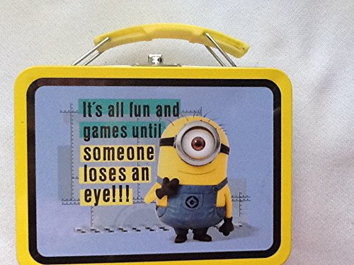 Minion Its All Fun and Games until Someone Loses an Eye mini -
