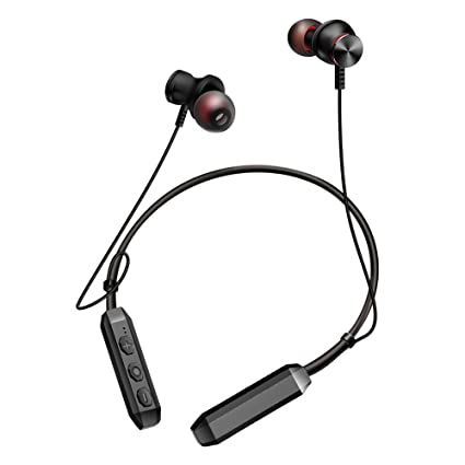Indeals Wireless Headphones Bluetooth Sports Earphones Neckband Headset with Mic Mobile Phone Bluetooth Headsets