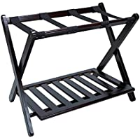 Ordinaire Luggage Rack For Suitcases   Solid Wood Home Storage Natural Finish   Hotel  Style Shelf Best