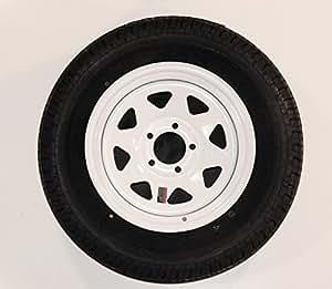 Goodyear Marathon Marathon Trailer Tire ST205/75R14 205/75-14 14 White Spoke Rim