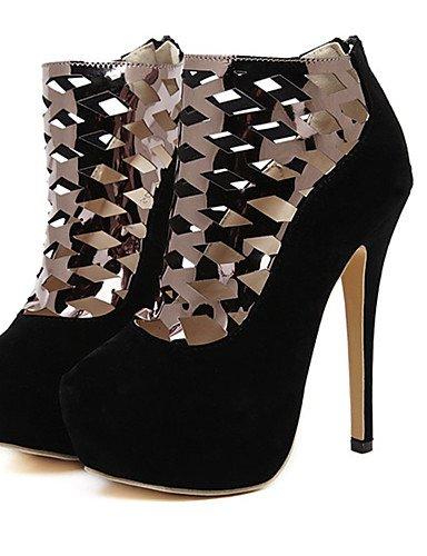 LFNLYX Zapatos de mujer-Tacón Stiletto-Tacones / Comfort / Innovador / Botas a la Moda / Zapatos y Bolsos a Juego-Sandalias / Tacones / Botas / Black