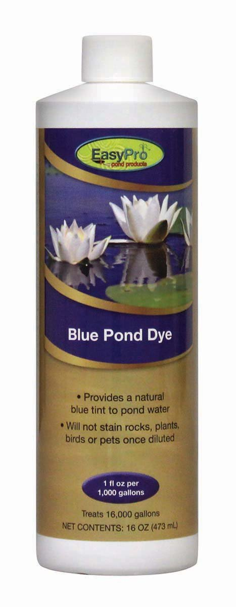 EasyPro Pond Products PD16 Blue Pond Dye, 16000-Gallon