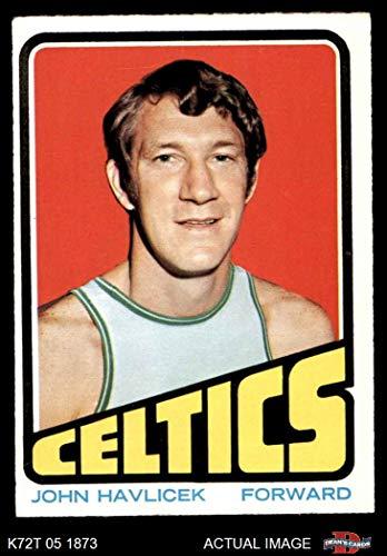 - 1972 Topps # 110 John Havlicek Boston Celtics (Basketball Card) Dean's Cards 5 - EX Celtics