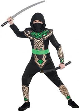 Christy`s - Disfraz de dragón ninja para niño, talla 8-10 años ...