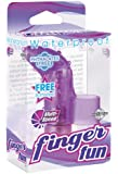 Pipedream Products Waterproof Finger Fun, Purple