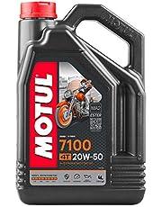Motul 104104 7100 4T, 20 W-50, 4 L