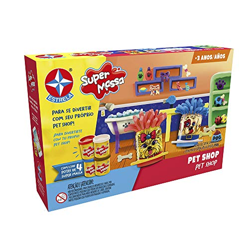 Super Massa Pet Shop Brinquedos Estrela Multicores