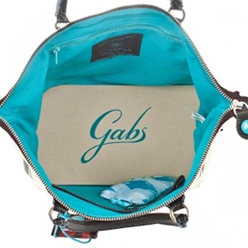 GABS - Bolso de asas de Piel para mujer Negro negro