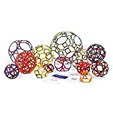 Polydron Frameworks Open Geometric Shapes (Set of 160 pieces in 6 shapes)
