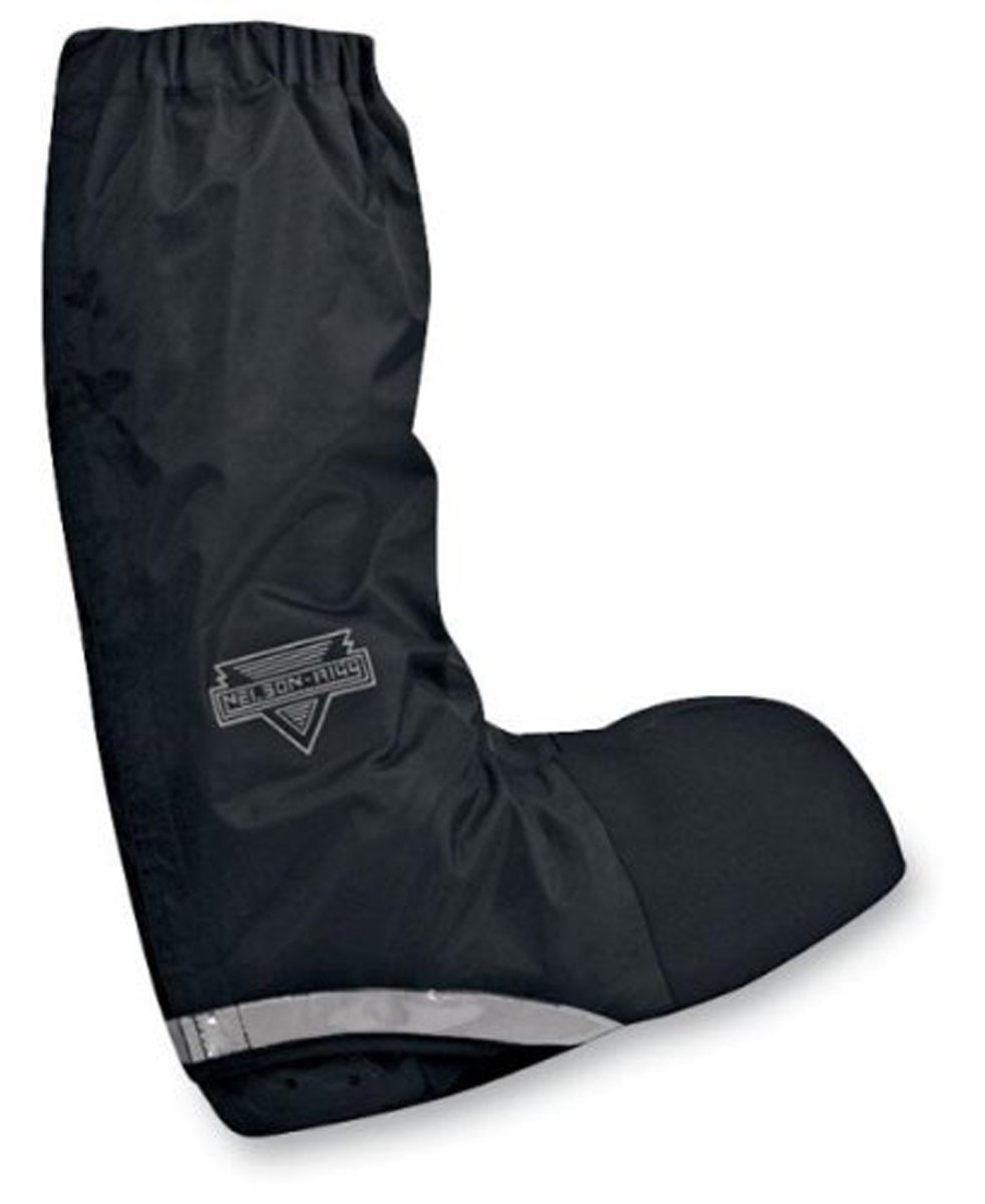 Nelson-Rigg WPRB-100 Waterproof Rain Men's Street Motorcycle Boots - Black/Small