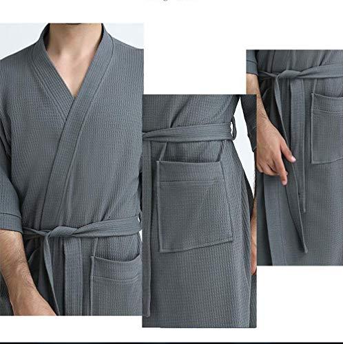 Produits Gray Coton Femme Automne Hiver Veste Nuit Nouveaux purple Gilet Pyjamas Xdgg Loisir Confortable Peignoir Mince m De 2018 RU0wZ5qf