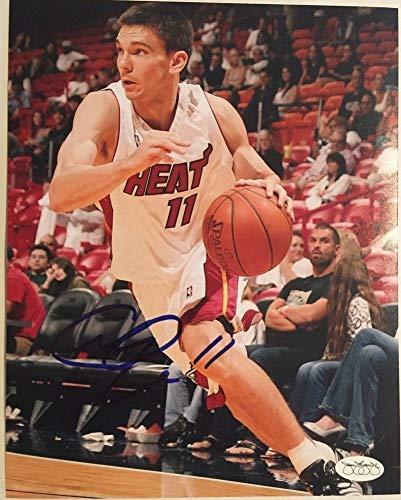 Chris Quinn Miami Heat Autographed 8x10 Photo JSA -