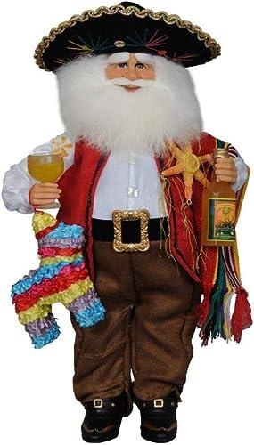 Karen Didion Fiesta Santa Figurine, 17 inches