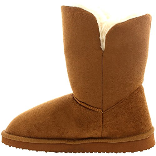Winter Classic Button Boots Twin Tan Rain Short Snow Womens qxAwP