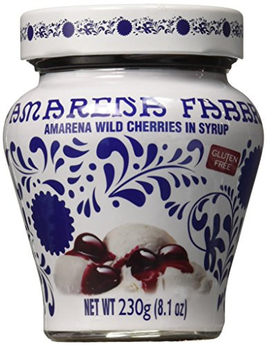 Wild Cherry Syrup - Fabbri Amarena Cherries In Syrup, 8.1 Ounce