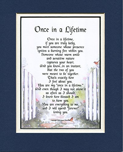 A Poem Gift Birthday Present For Husband Or Wife #78