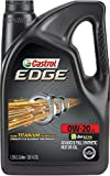Automotive : Castrol 03124 EDGE 0W-20 Advanced Full Synthetic Motor Oil, 5 Quart
