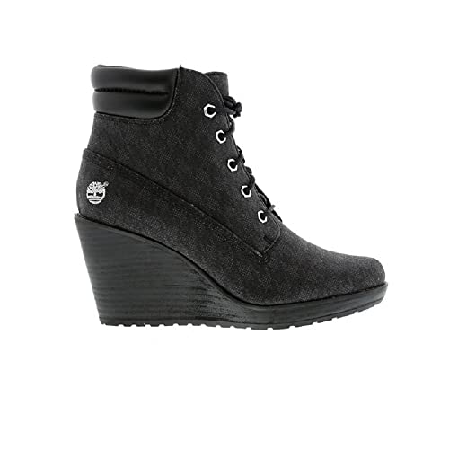 Timberland Earthkeepers Meridian 6inch Wedge Hi Heel Womens Leather Shoes  Boots A12PS (UK 4.5 EUR