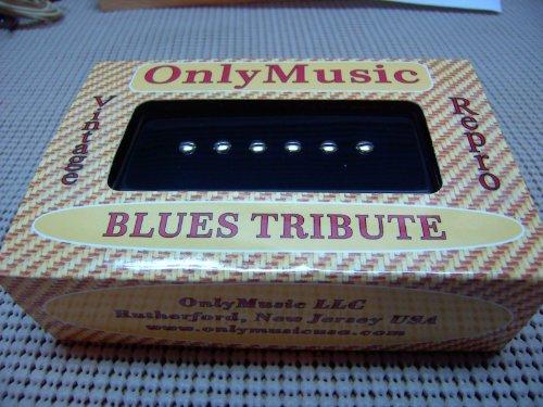ONLYMUSIC BLUES TRIBUTE P90 SOAP BAR DOG EAR VINTAGE REPRODUCTION NECK PICKUP
