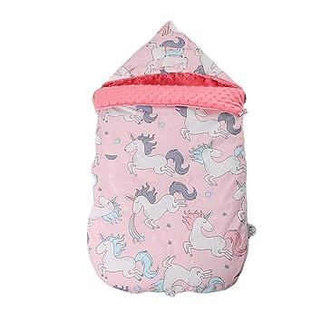 Vicheng Saco de Dormir Anti-sobresaltado para bebés Bolso de bebé recién Nacido Toalla Swaddle