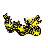 Tuffy Dragon Dog Toy, Yellow