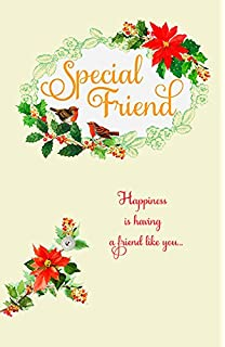 Amazon worlds greatest 70 year old humour birthday special friend poinsettia christmas greeting card m4hsunfo