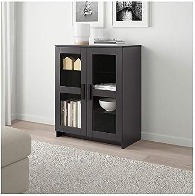Amazon Com Ikea 003 006 64 Brimnes Cabinet With Doors Glass