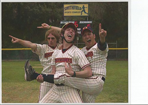 The Benchwarmers with David Spade Jon Heder and Ron Schneider #1 8 x 10 LAMINATED Photo 003