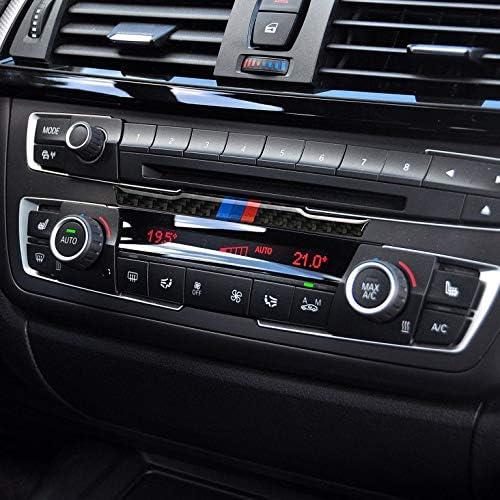 Pannello di controllo in fibra di carbonio per BMW Serie 3 F30 3GT F34 3XT